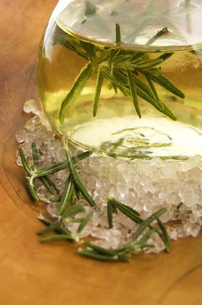 морская соль продовольствие стекла нефть Сток-фото © joannawnuk