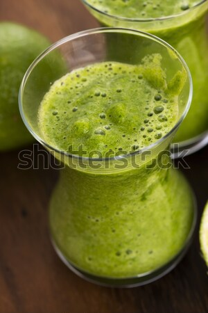 Healthy green drink, vegetable juice Stock photo © joannawnuk