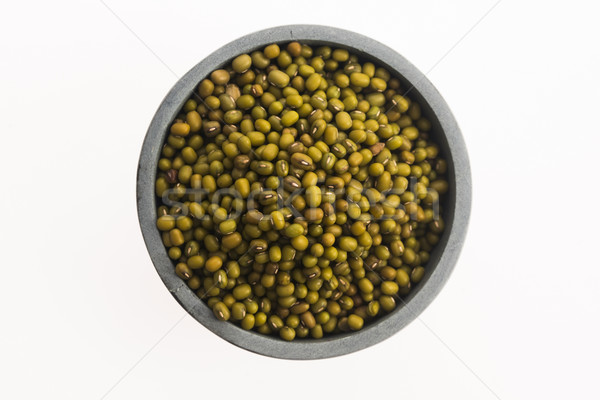 raw mung bean Stock photo © joannawnuk