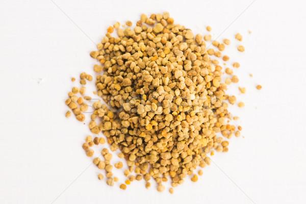 Pszczoła pyłek żywności medycznych ogród Zdjęcia stock © joannawnuk