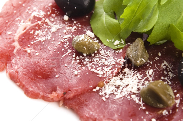 Carne parmigiano formaggio olio cena carne Foto d'archivio © joannawnuk