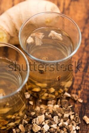 Olaj mag étel gyógyszer eszik fehér Stock fotó © joannawnuk