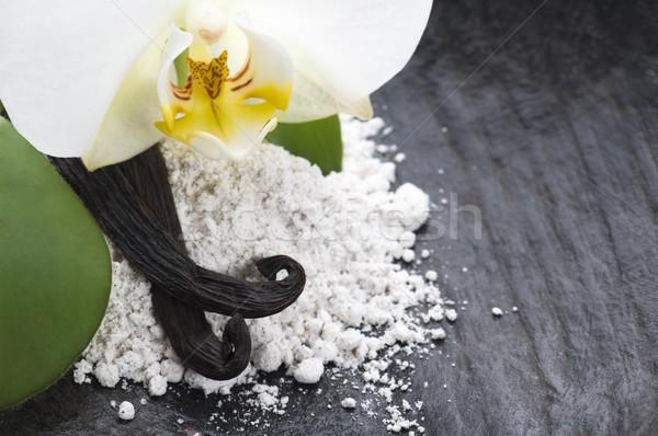 Vanília bab aromás cukor virág természet Stock fotó © joannawnuk