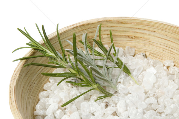 rosemary bath. aromatherapy Stock photo © joannawnuk
