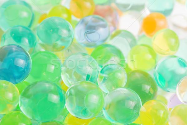 Color balls, hydrogel beads Stock photo © joannawnuk