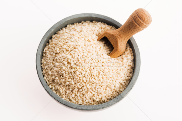 sesame seeds isolated on white background Stock photo © joannawnuk