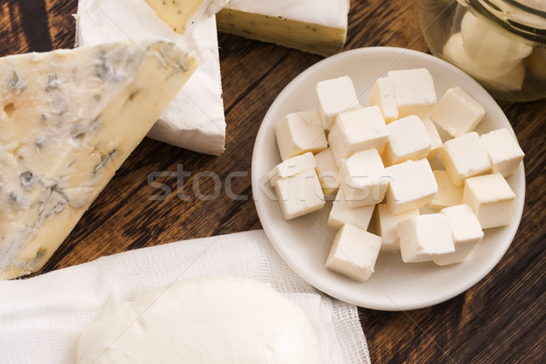 different kinds of cheese Stock photo © joannawnuk