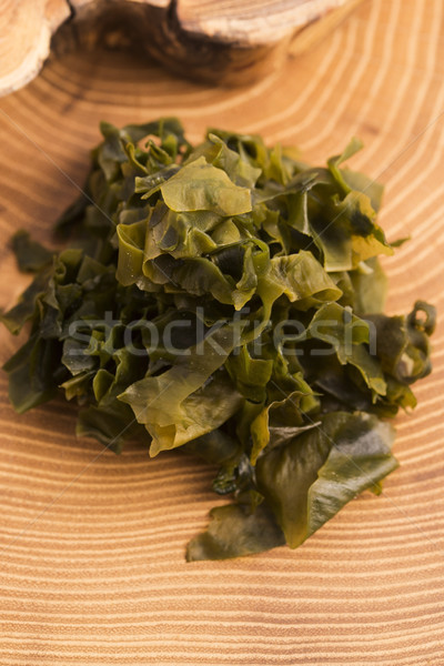Alghe cibo giapponese alimentare verde cottura vegetali Foto d'archivio © joannawnuk