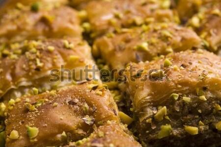 Geleneksel Orta Doğu tatlı çöl kafe model Stok fotoğraf © joannawnuk