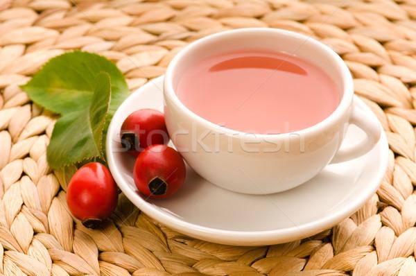 Stock fotó: Rózsa · csípő · tea · kutya · természet · gyümölcs