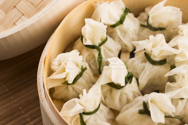 中国語 竹 オレンジ ディナー 朝食 ランチ ストックフォト © joannawnuk