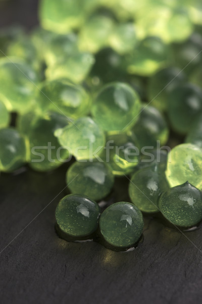 mint caviar, molecular gastronomy Stock photo © joannawnuk