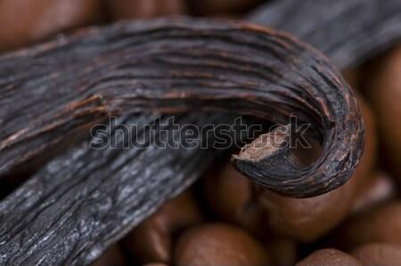 バニラ 豆 ブラウンシュガー 自然 料理 食べる ストックフォト © joannawnuk