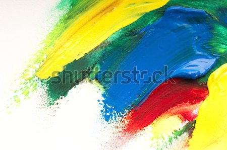 mixing paints. background  Stock photo © joannawnuk