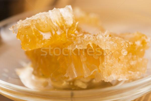 соты ячейку Sweet здорового Сток-фото © joannawnuk