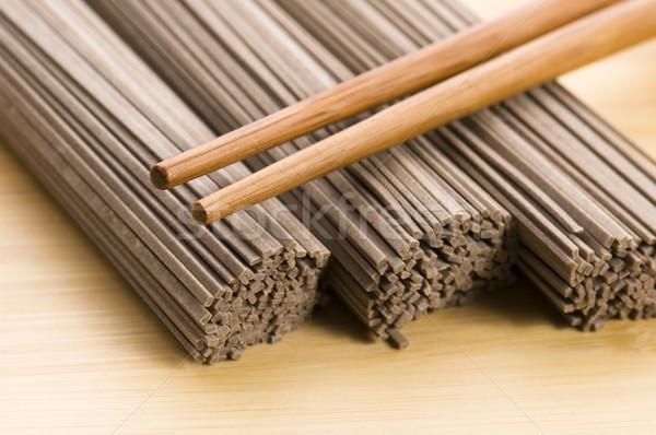 japanese pasta. soba Stock photo © joannawnuk