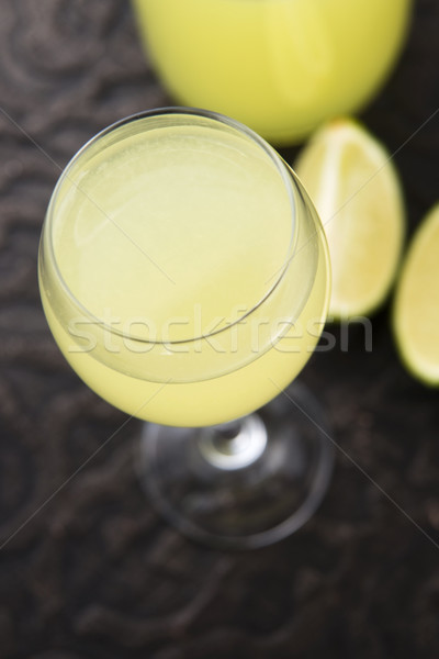 Limoncello Lemon Liqueur Stock photo © joannawnuk