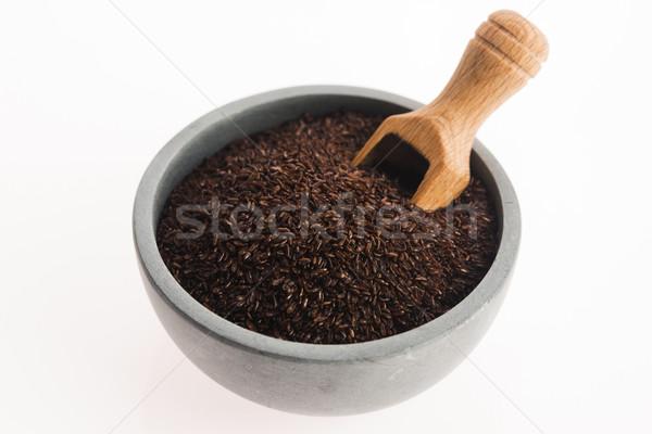 Psyllium seeds Stock photo © joannawnuk