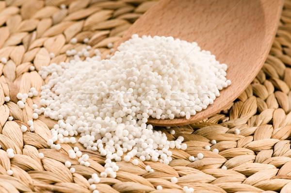 white tapioca pearls Stock photo © joannawnuk