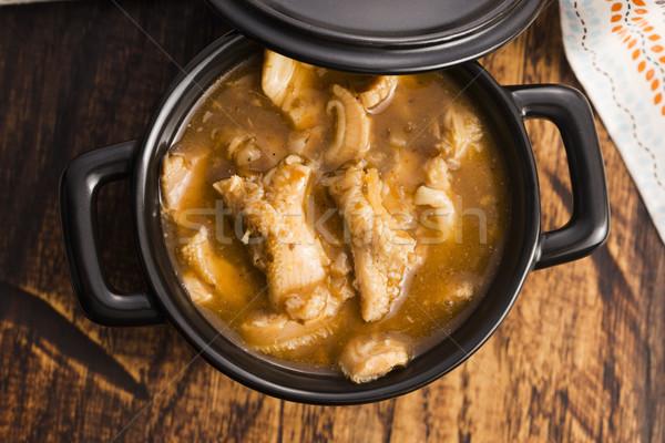 polish beef tripe soup Stock photo © joannawnuk