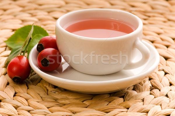 rose hip tea  Stock photo © joannawnuk