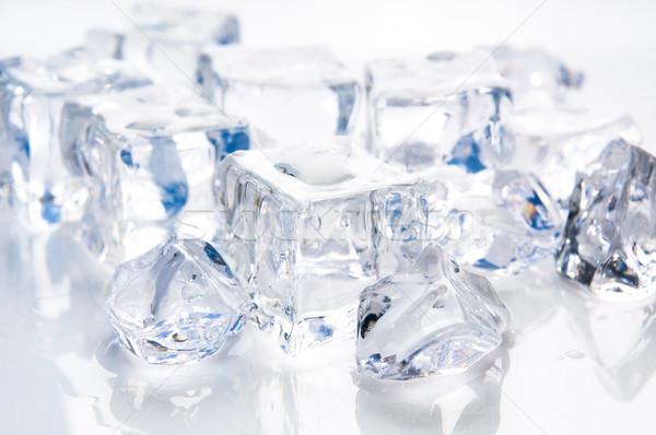 ice cubes Stock photo © joannawnuk