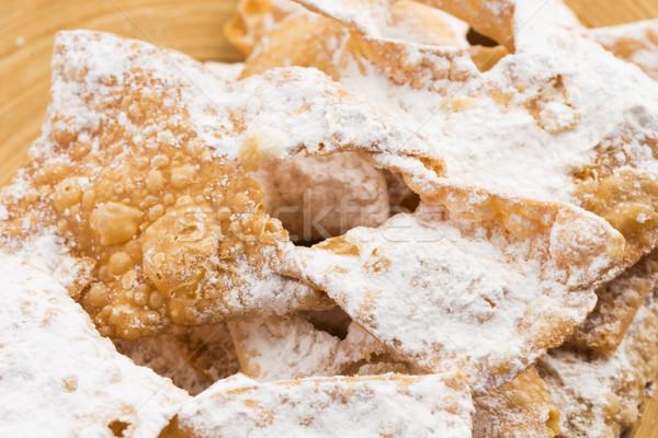 Lejek ciasto biały deser słodkie ciasta Zdjęcia stock © joannawnuk
