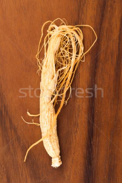 женьшень корней красный растительное выбора Китай Сток-фото © joannawnuk