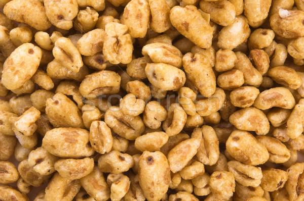 Popped wheat grains Stock photo © joannawnuk