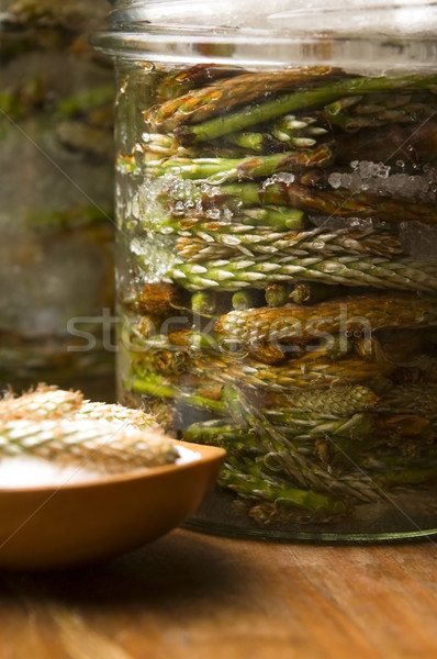 Xarope pinho árvore comida médico Foto stock © joannawnuk