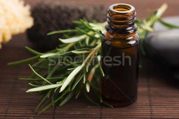 Rosemary essential oil Stock photo © joannawnuk