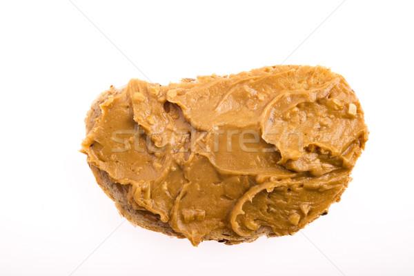 Peanut butter sandwich Stock photo © joannawnuk