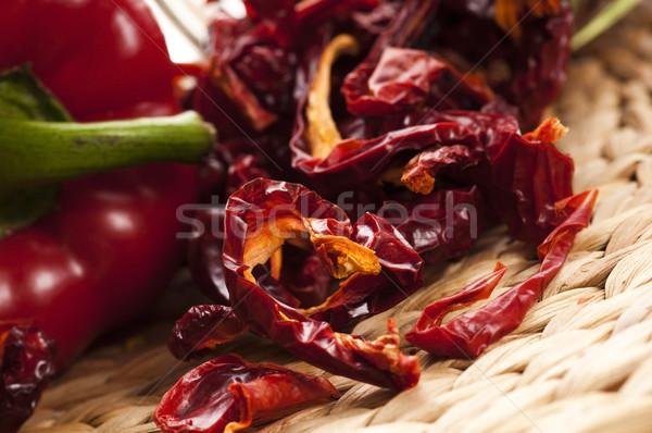 Dried red pepper Stock photo © joannawnuk