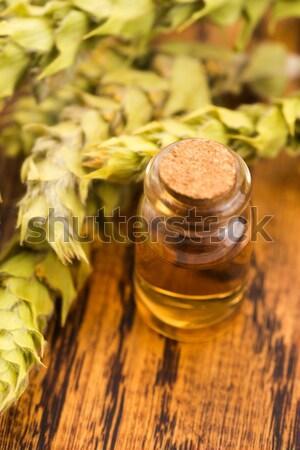 Stock photo: Medical Cannabis oil