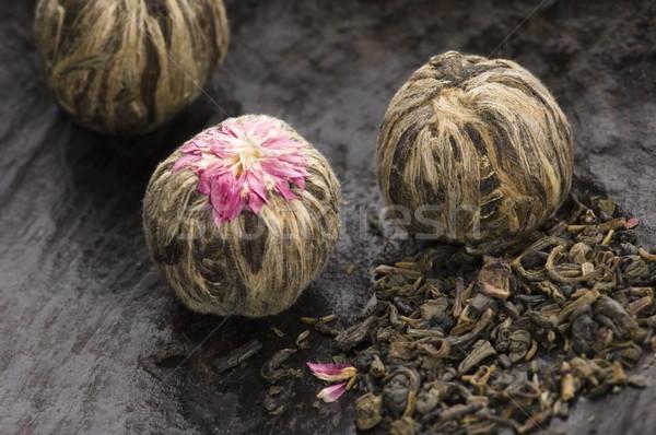 Yeşil Çin çay sağlık arka plan Stok fotoğraf © joannawnuk
