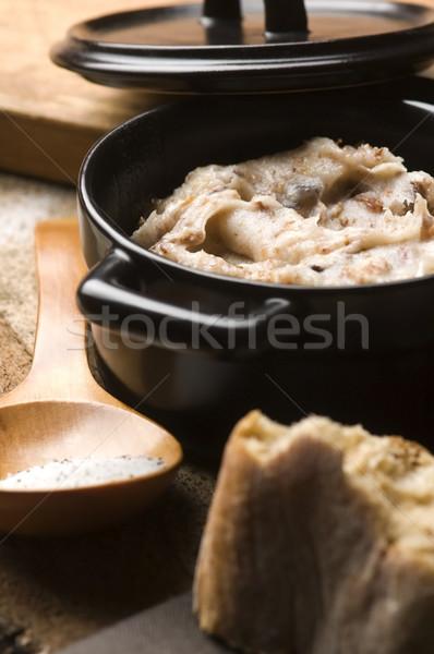 Lard with cracklings  Stock photo © joannawnuk