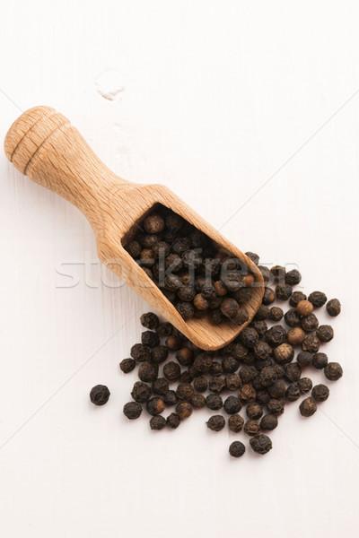 Black peppercorn Stock photo © joannawnuk