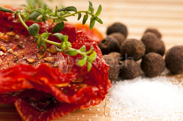 Italian sun dried tomatoes Stock photo © joannawnuk