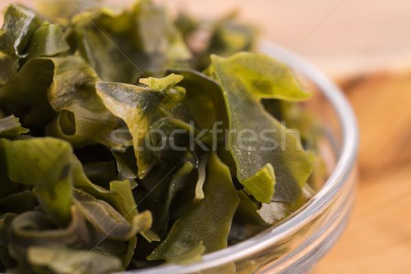 Alga comida japonesa comida verde asiático cozinhar Foto stock © joannawnuk