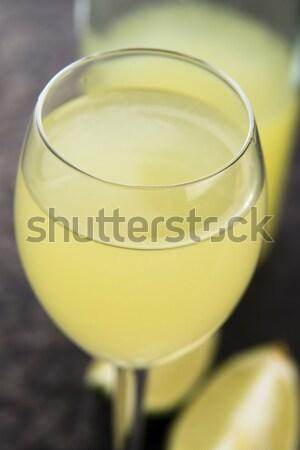 Limoncello Lemon Liqueur Stock photo © joannawnuk