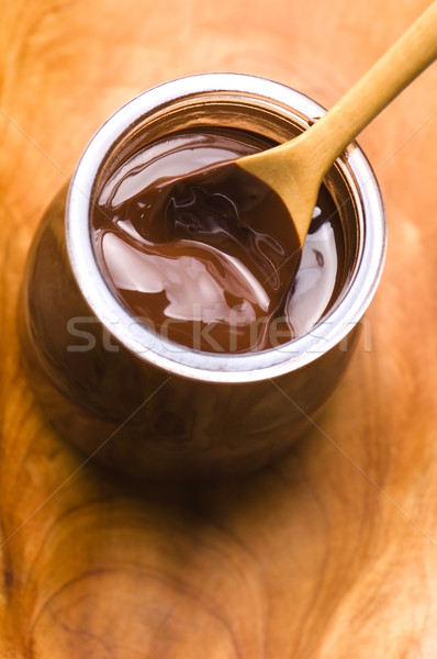 Casero chocolate alimentos resumen leche negro Foto stock © joannawnuk