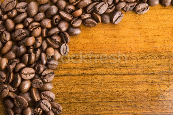 Coffee on wooden background  Stock photo © joannawnuk