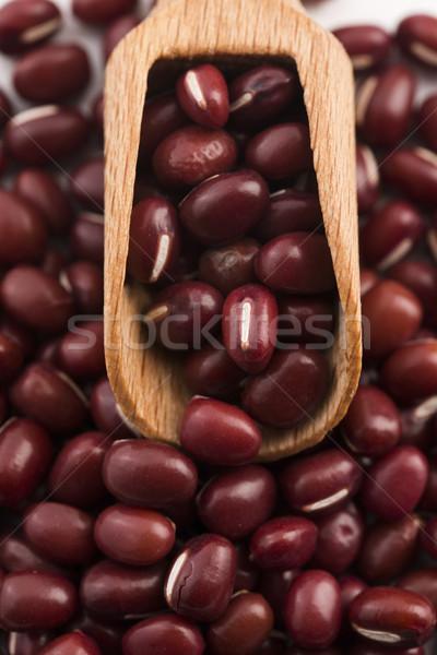 Red haricot beans (Adzuki) Stock photo © joannawnuk