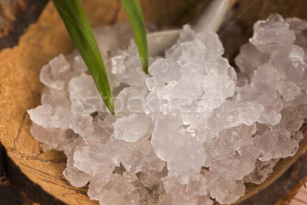 Zdjęcia stock: Wody · kefir · świeże · zdrowych · jar