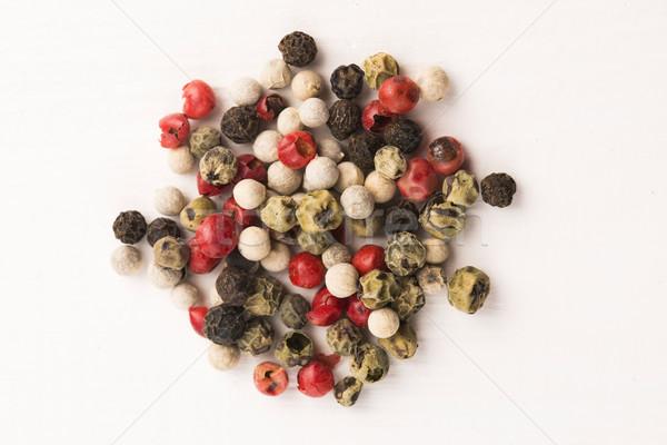 Stok fotoğraf: Karışık · yeşil · kırmızı · beyaz · siyah · ahşap