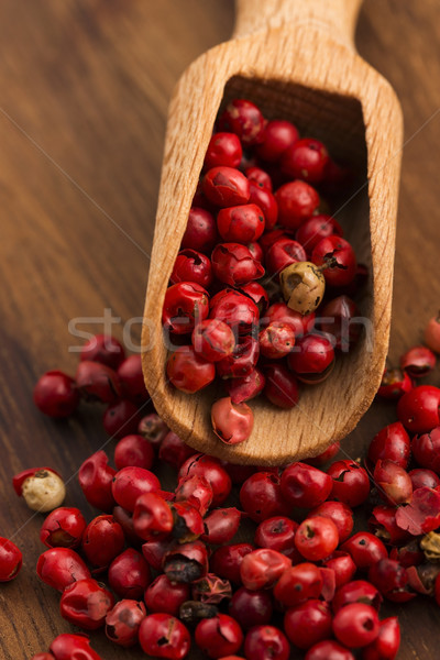 pink peppercorns Stock photo © joannawnuk
