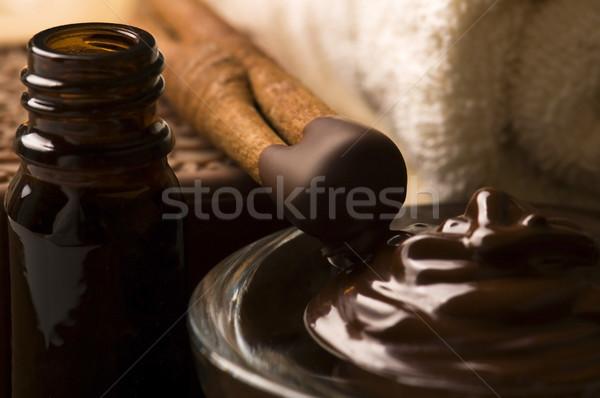 Foto d'archivio: Cioccolato · spa · cannella
