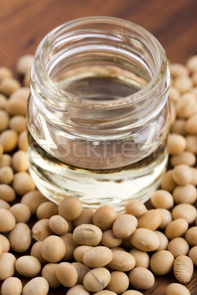 Soja fasola oleju żywności charakter zdrowia Zdjęcia stock © joannawnuk