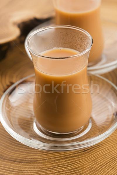 Yaprak çay siyah Hint sağlıklı yaşam baharatlar Stok fotoğraf © joannawnuk
