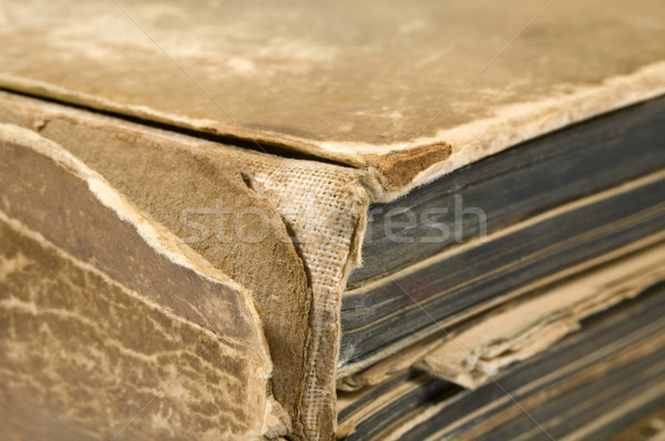 old book (1911) - detail Stock photo © joannawnuk